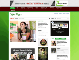 kitaveg.com screenshot
