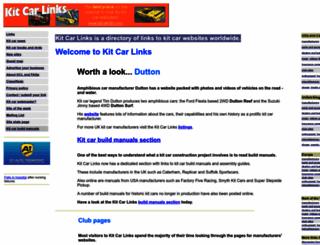 kitcarlinks.com screenshot