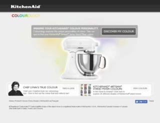 kitchenaidcolourology.ca screenshot