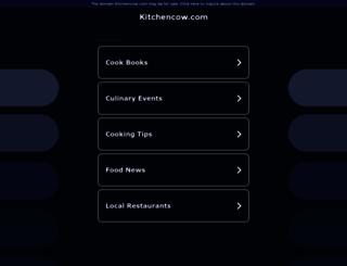 kitchencow.com screenshot