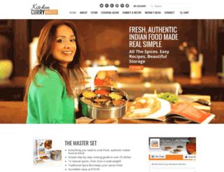 kitchencurrymaster.com screenshot