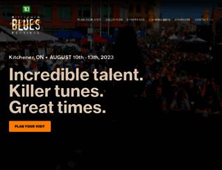 kitchenerbluesfestival.com screenshot