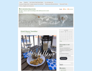 kitcheninspirations.wordpress.com screenshot