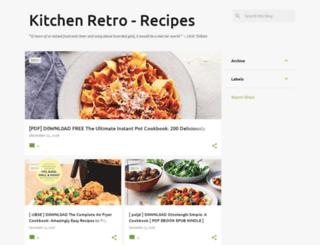 kitchenretro.blogspot.com screenshot