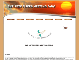 kitefliersmeetingfanoe.de screenshot