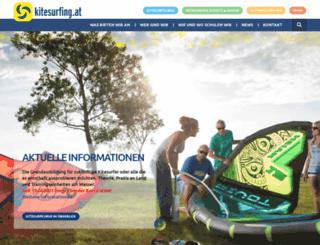 kitesurfing.at screenshot