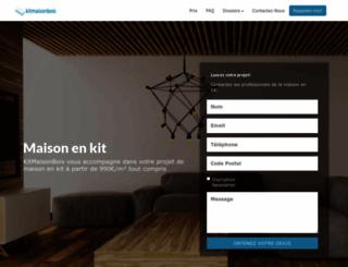 Access kitmaisonbois.com. Kit Maison Bois - Constructeur De Maison ...