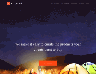 kitorder.com screenshot