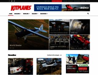 kitplanes.com screenshot