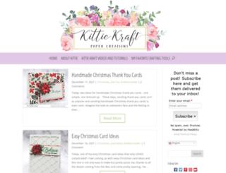 kittiekraft.com screenshot