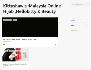 kittyshawls.com screenshot