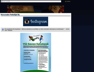kiupa.sporttisaitti.com screenshot