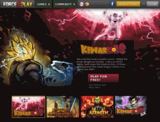 kiwarriors.com screenshot