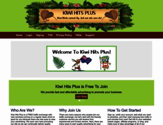 kiwihitsplus.com screenshot