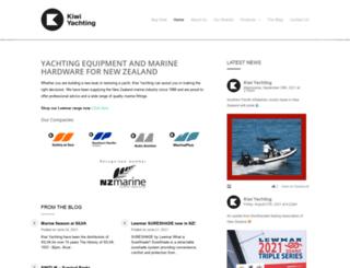 kiwiyachting.co.nz screenshot