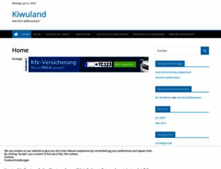 kiwuland.com screenshot