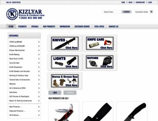 kizlyar.com.au screenshot