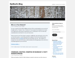 kjellkod.wordpress.com screenshot