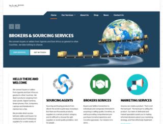 kjsbrokers.com screenshot