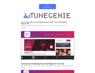 kkdv.tunegenie.com screenshot