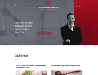kkplegal.pl screenshot