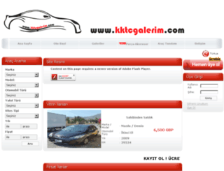 kktcgalerim.com screenshot