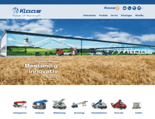 klaas.com screenshot