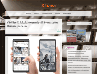 klaava.fi screenshot