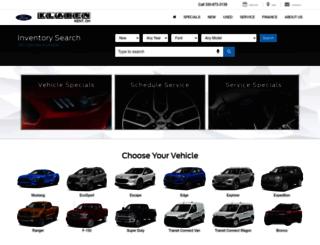 klabenfordonline.com screenshot