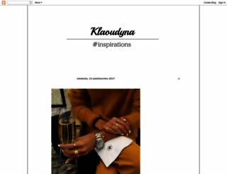 klaoudyna.blogspot.com screenshot