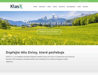 klas.cz screenshot