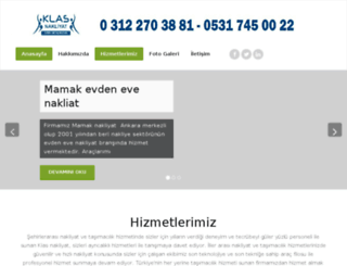 klasevdenevenakliyat.com screenshot