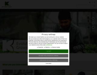 klasmann-deilmann.com screenshot