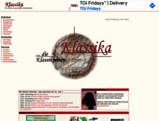 klassika.info screenshot