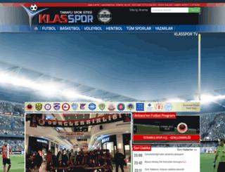 klasspor.com screenshot
