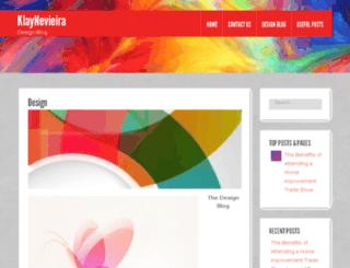 klaynevieira.com screenshot