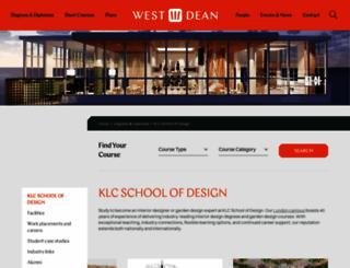 klc.co.uk screenshot