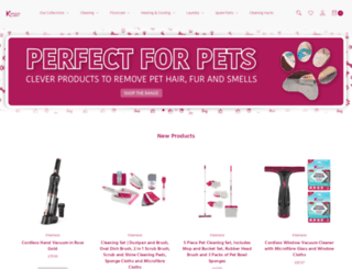 kleeneze.com screenshot