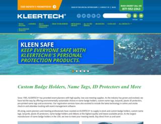 kleertech.com screenshot