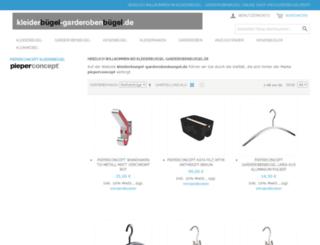 kleiderbuegel-garderobenbuegel.de screenshot