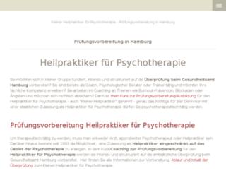 kleiner-heilpraktiker-hamburg.jimdo.com screenshot