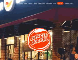 klengerburger.com screenshot