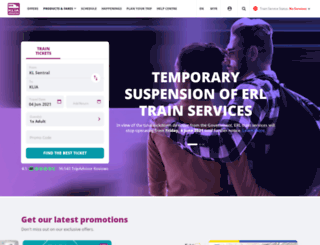 kliaekspres.com screenshot