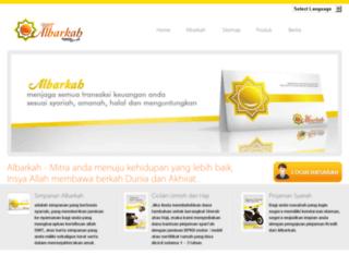 klikalbarkah.com screenshot