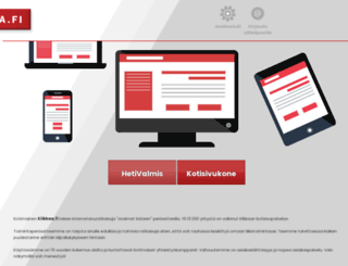 klikkaa.fi screenshot