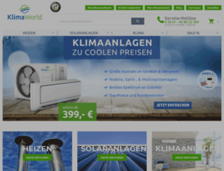 klimaworld24.info screenshot