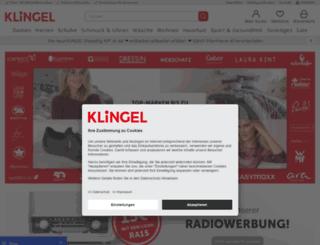 klingel.com screenshot