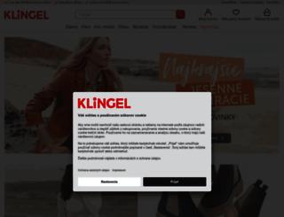 klingel.sk screenshot