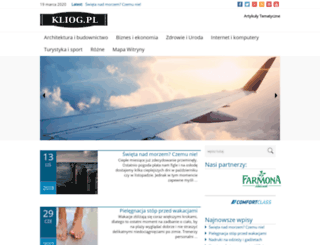 kliog.pl screenshot