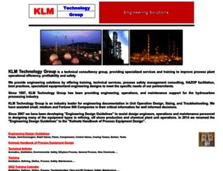 klmtechgroup.com screenshot